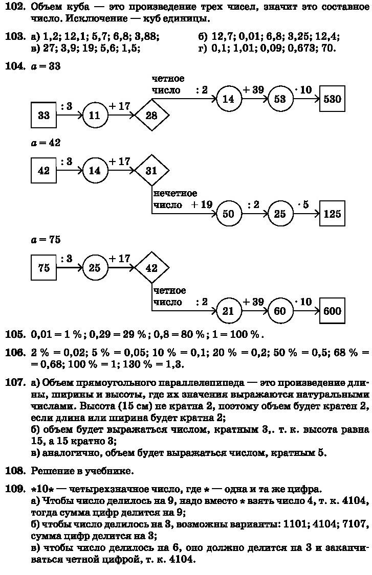 Виленкин Делимость чисел ГДЗ 6 класс