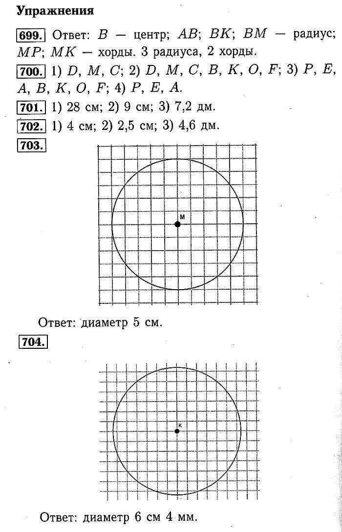 Математика Мерзляк. Ответы на упр. 680 - 766